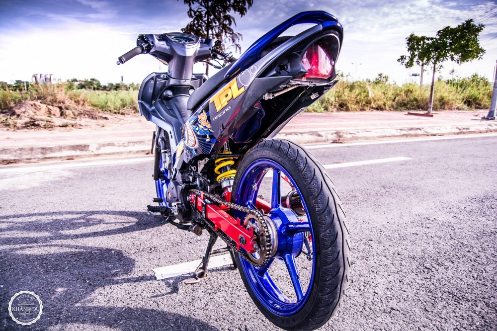 Exciter 135 do phong cach cop day manh me - 6