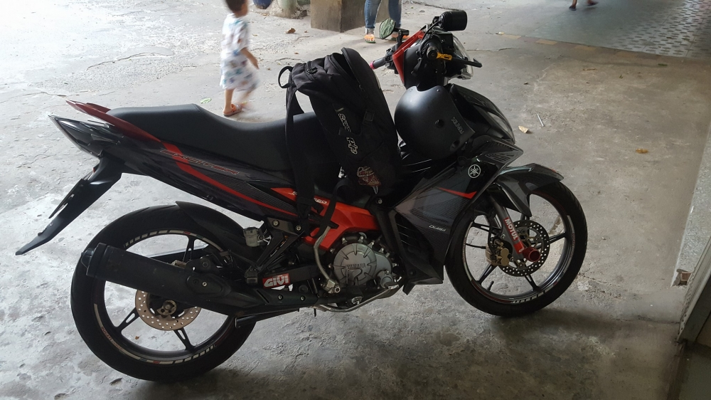 Exciter 135 do tem cuc ngau voi phien ban RC 2016 - 2