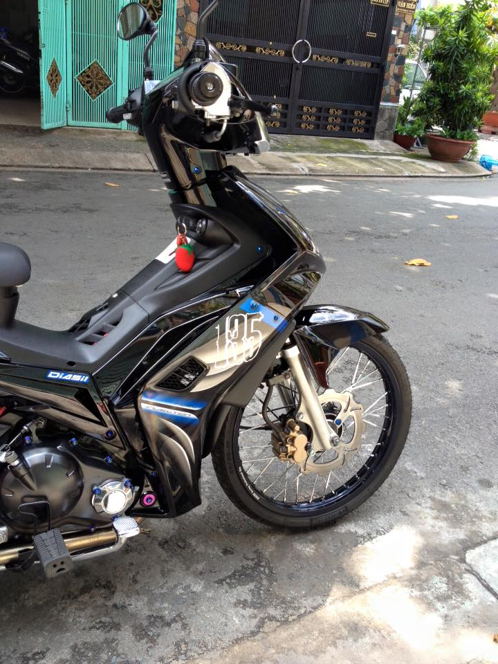 Exciter 135 Spark cuc phong cach - 5