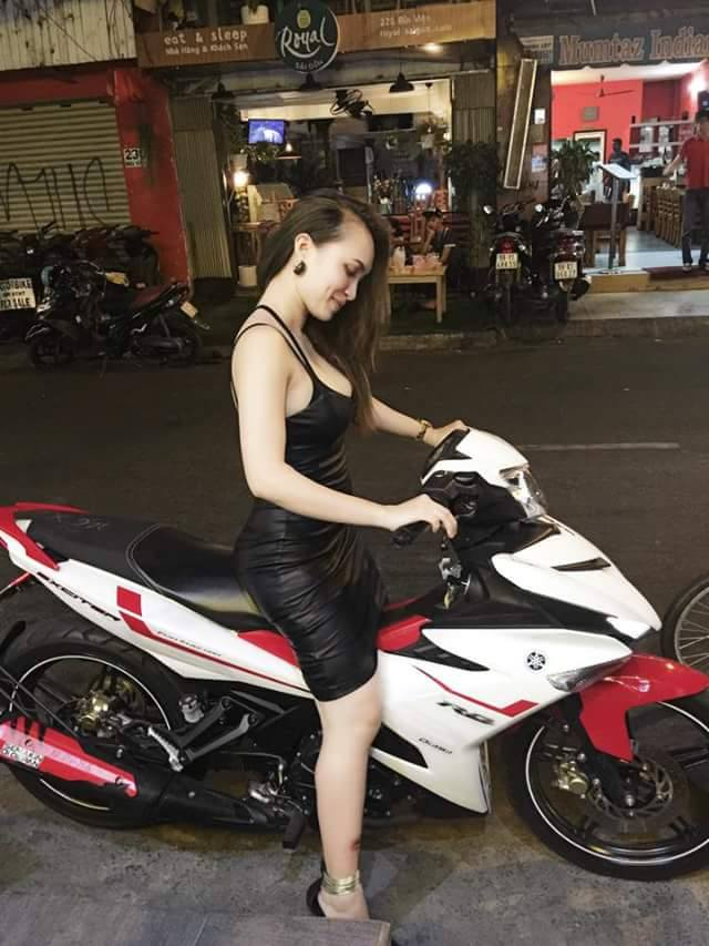 Exciter 150 so dang cung hot girl ca tinh - 2