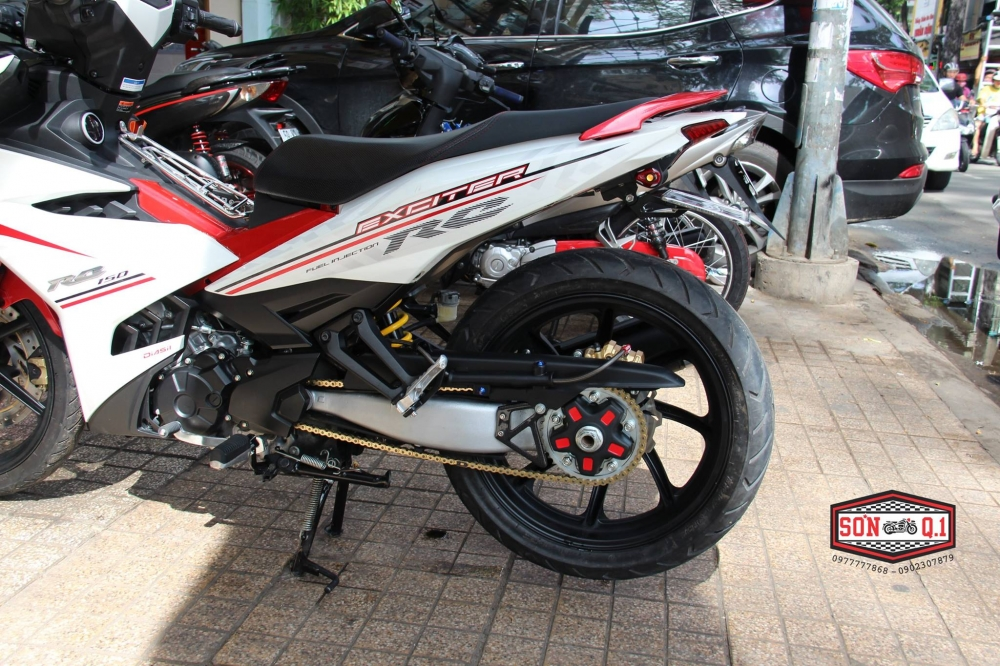 Exciter 150 do nhe cung dan chan 1 gap day phong cach - 4