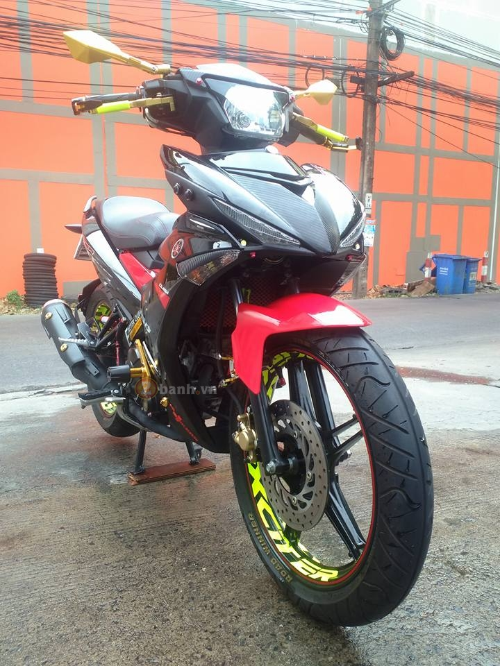 Exciter 150 do voi nhieu do choi noi bat cua biker Thai Lan - 2