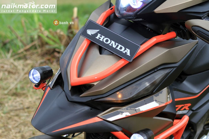 Honda Winner do an tuong voi phong cach Adventure - 4