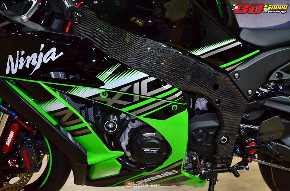 Kawasaki Ninja ZX10R 2016 trong ban do cuc chat tu BD Speed Racing - 15