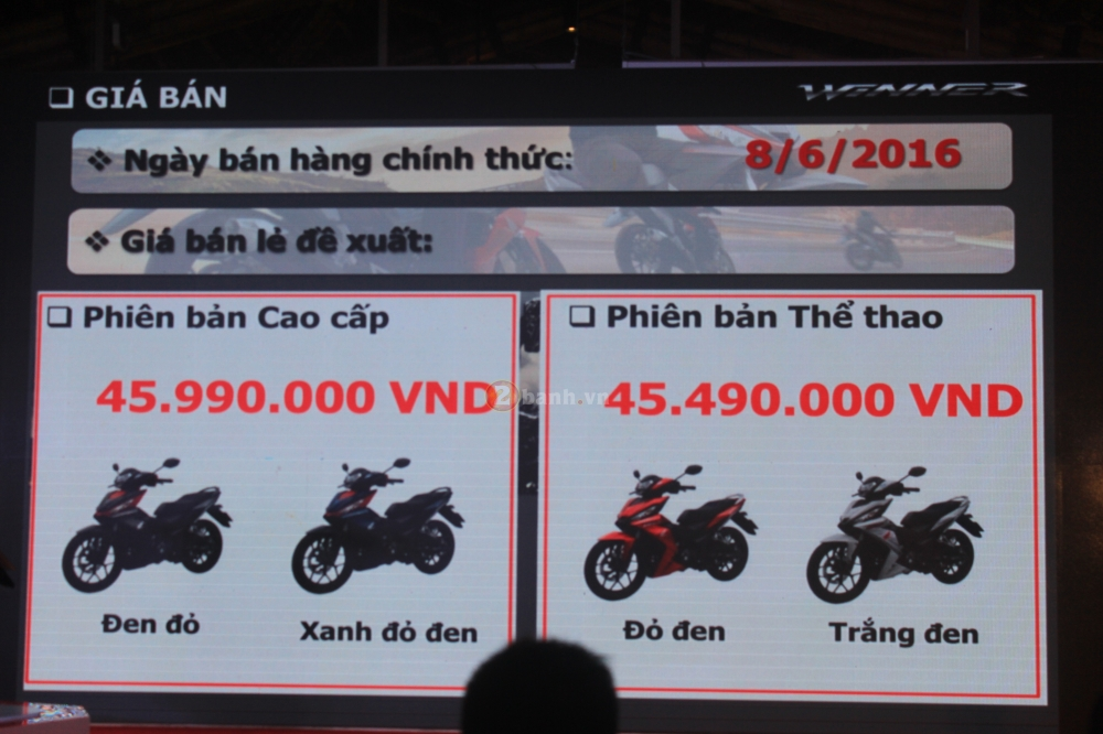 Khach hang lo lang Honda Winner 150 bi doi gia - 2