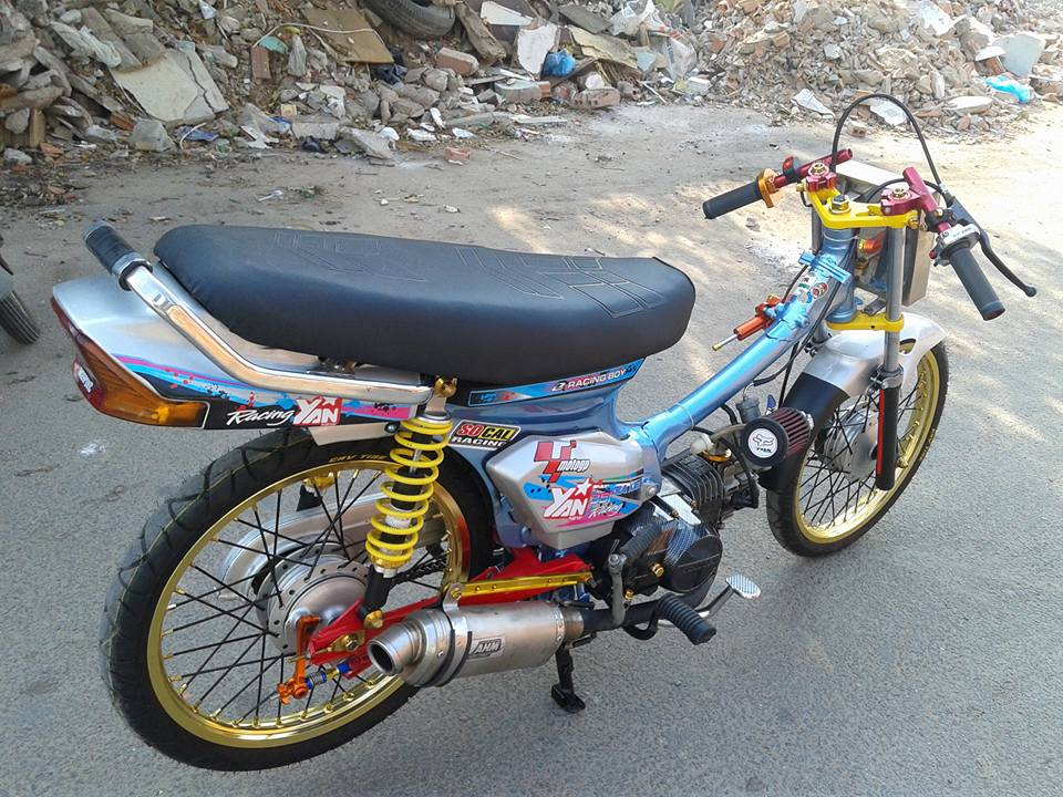 Theo duoi dam me cung chiec Dream don Drag - 2