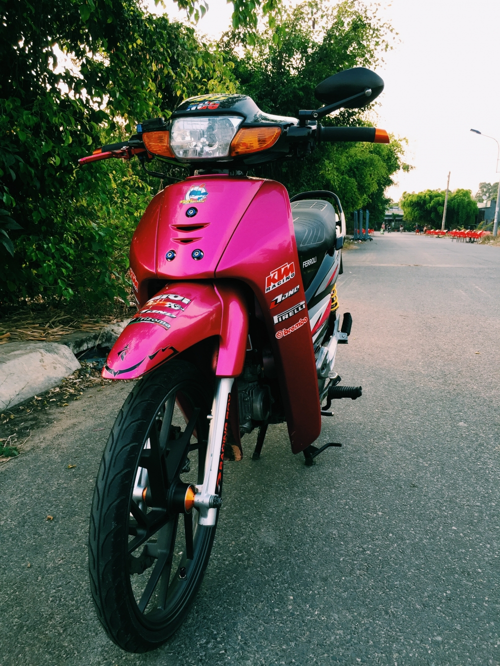 wave 50cc hoc sinh tap tanh don - 10
