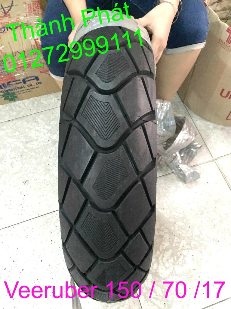 Vo lop xe may PKL va xe nho DunLop Michelin Briedgestone Continental IRC VeeRuber Swallow - 34