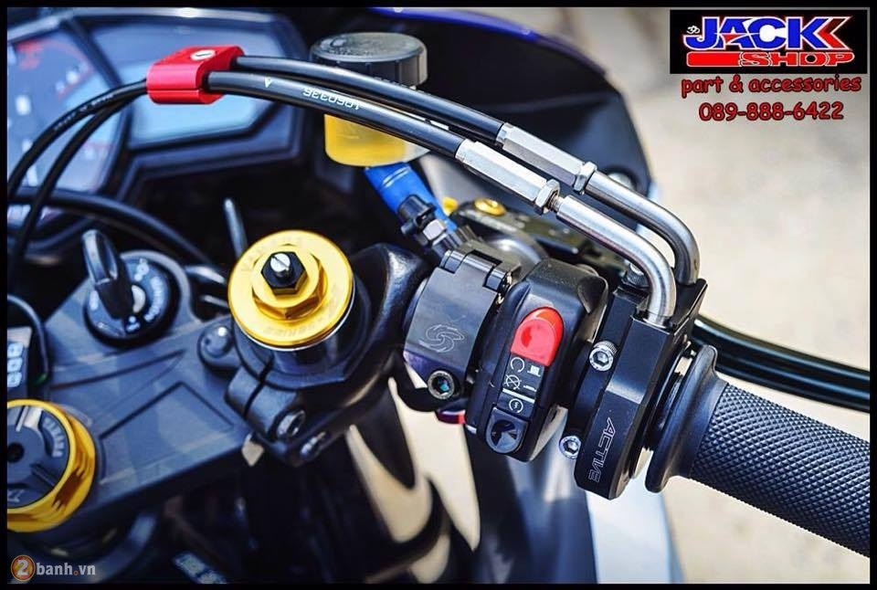 Yamaha R3 do cuc chat den tu Jackshop Ladprao71 - 6