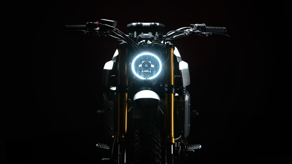 Yamaha XSR700 vo cung an tuong trong ban do Tracker tu Bunker Customs Cycle - 8