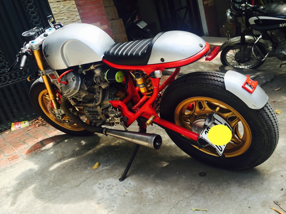 Ban Honda GL400 Cafe Racer HQCN Full hang hieu chat ngat Ly Cafe hoan my - 5