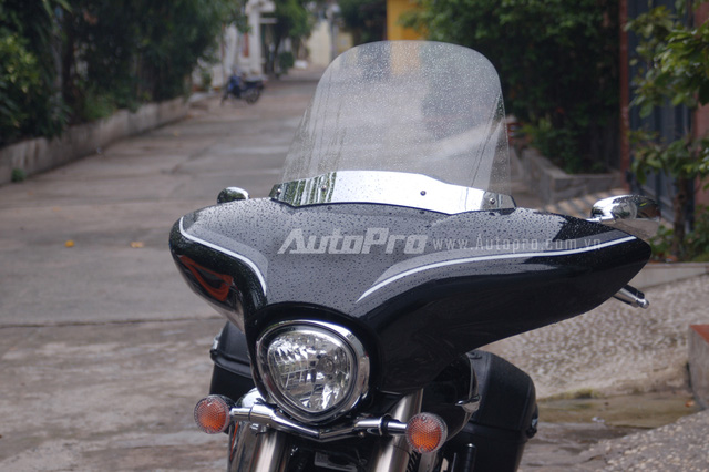 Can canh hang hiem Yamaha V Star 1300 Deluxe vua duoc nhap ve VN - 6