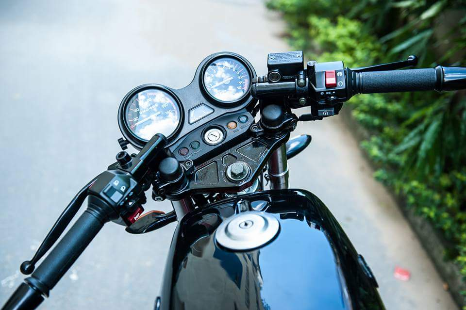 Classic bike phong cach Cafe Racer - 4