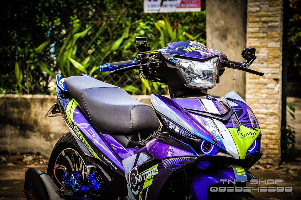 Exciter 150 do chat lu cua cac biker mien Tay - 2