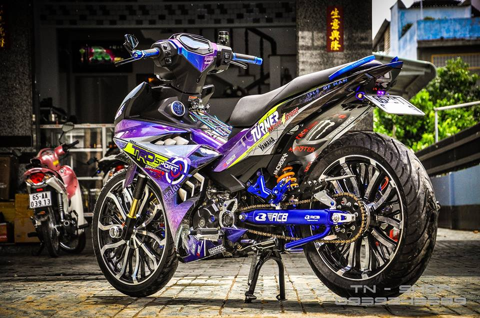 Exciter 150 do chat lu cua cac biker mien Tay - 6