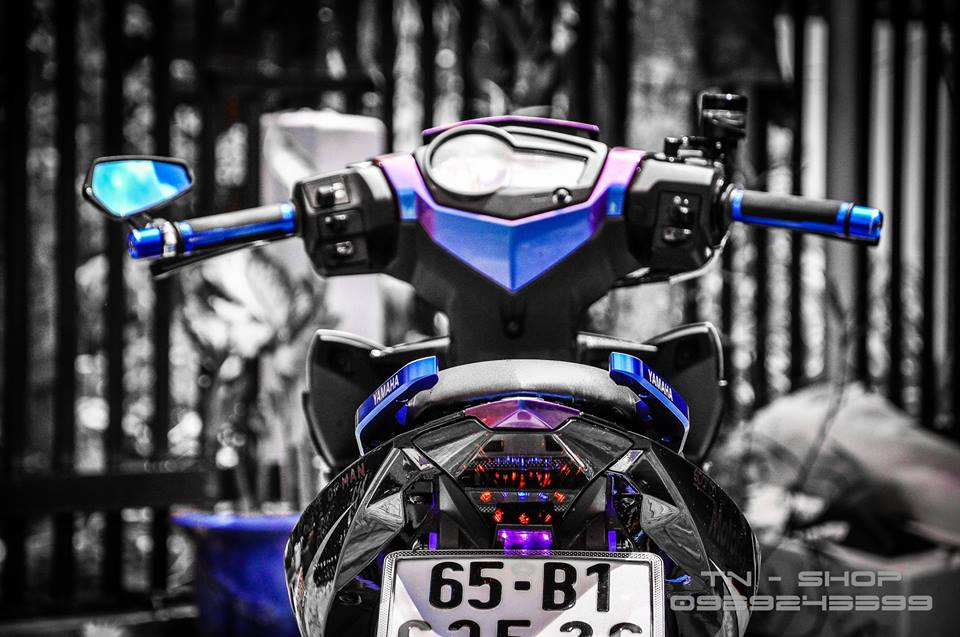 Exciter 150 do chat lu cua cac biker mien Tay - 8