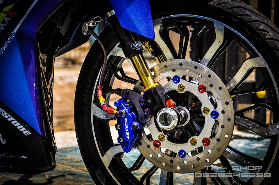 Exciter 150 do chat lu cua cac biker mien Tay - 10