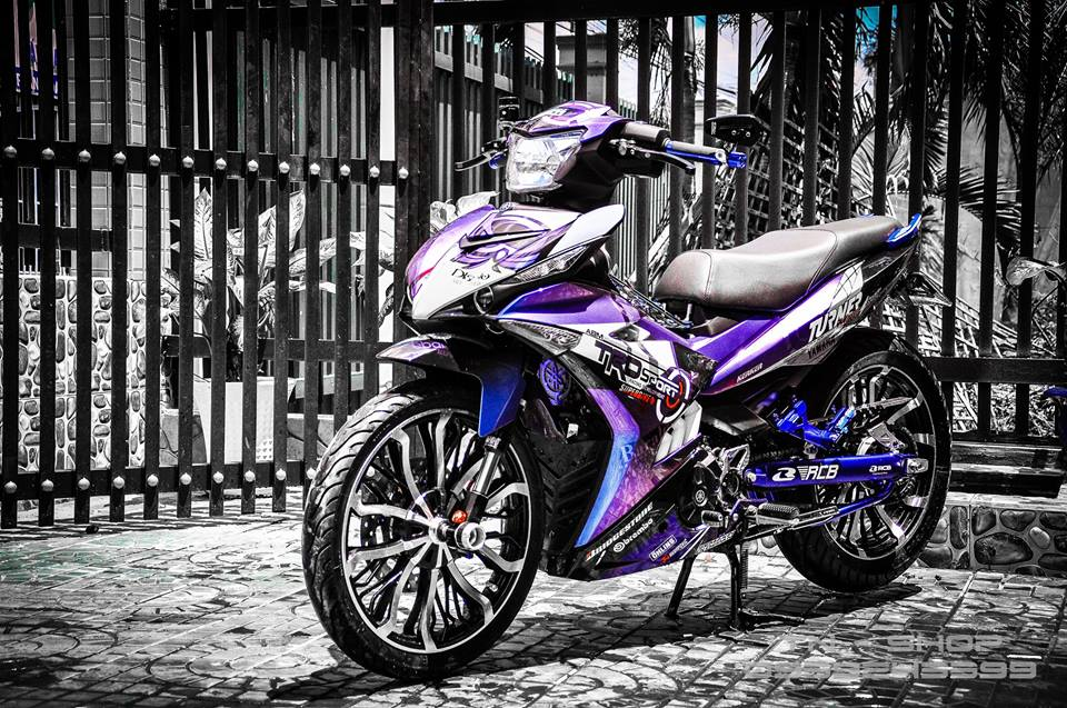 Exciter 150 do chat lu cua cac biker mien Tay - 14