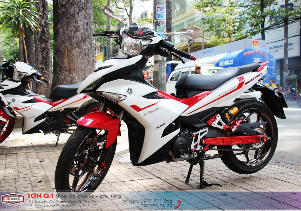 Exciter 150 voi ban do don gian nhung day chat choi - 2