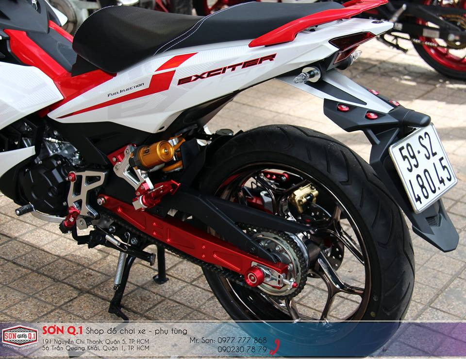Exciter 150 voi ban do don gian nhung day chat choi - 9
