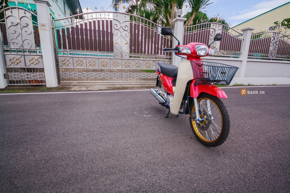 Honda Super Cub do day phong cach tai Thai Lan - 12