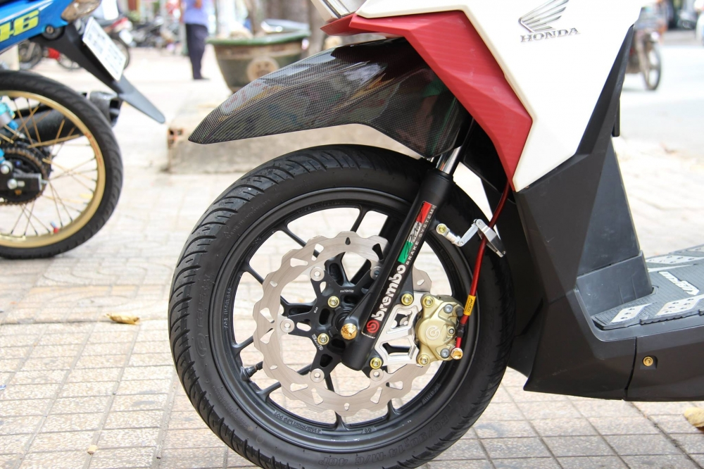 Honda Vario 2016 op Carbon Fiber cung dan option hang hieu - 9
