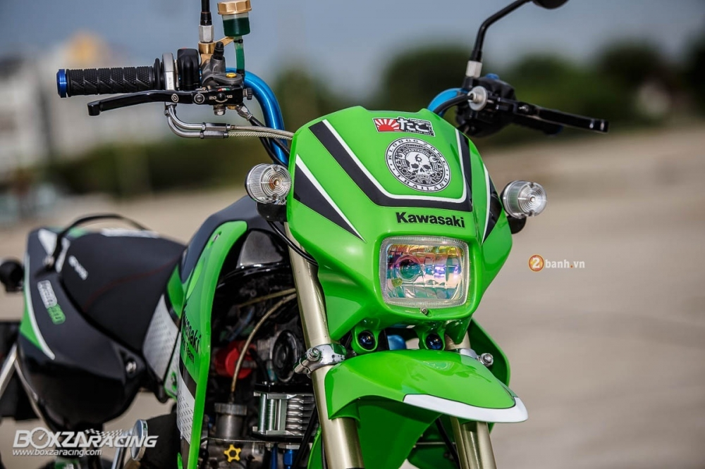 Kawasaki KSR do day phong cach tu Tako Racing - 3