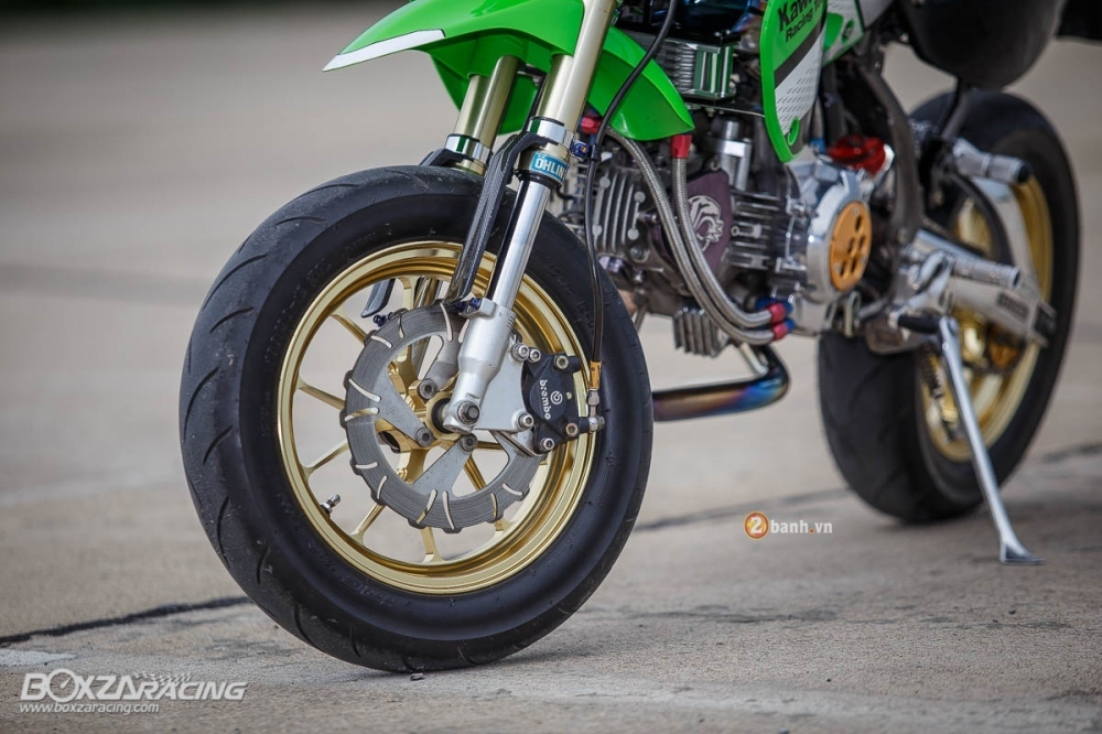 Kawasaki KSR do day phong cach tu Tako Racing - 9