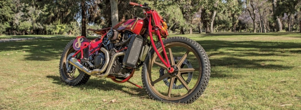 Sieu pham Indian Scout trong ban do kich doc den tu Roland Sands - 2