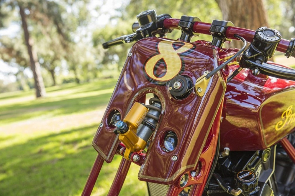 Sieu pham Indian Scout trong ban do kich doc den tu Roland Sands - 4