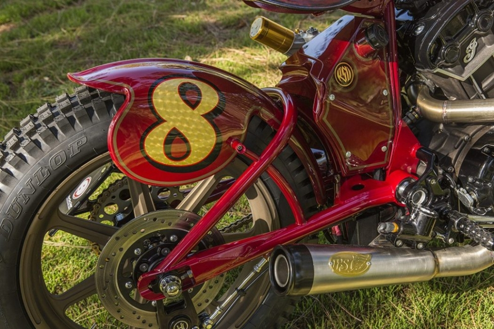 Sieu pham Indian Scout trong ban do kich doc den tu Roland Sands - 14