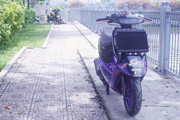 Vai tam anh Honda Dio SR do Full 52mm may nuoc - 4