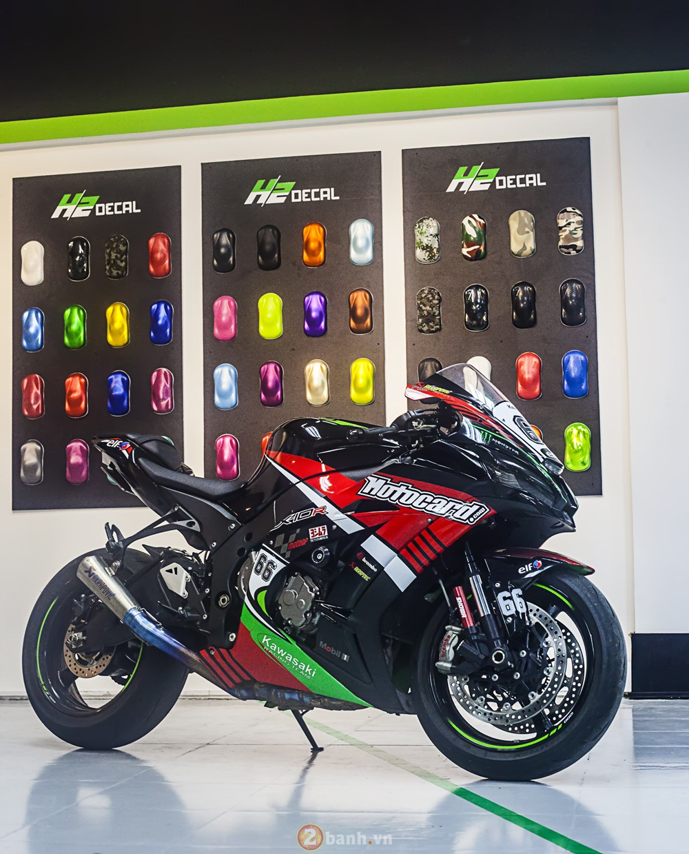ZX10R 2016 chat choi trong bo canh dua phong canh moi - 4
