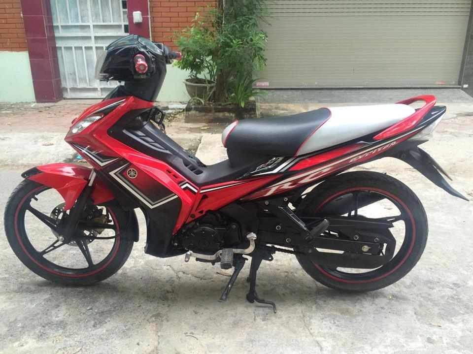 Exciter 135cc RC do den con tu dong 4 so doi chot 2O13 chinh chu - 4