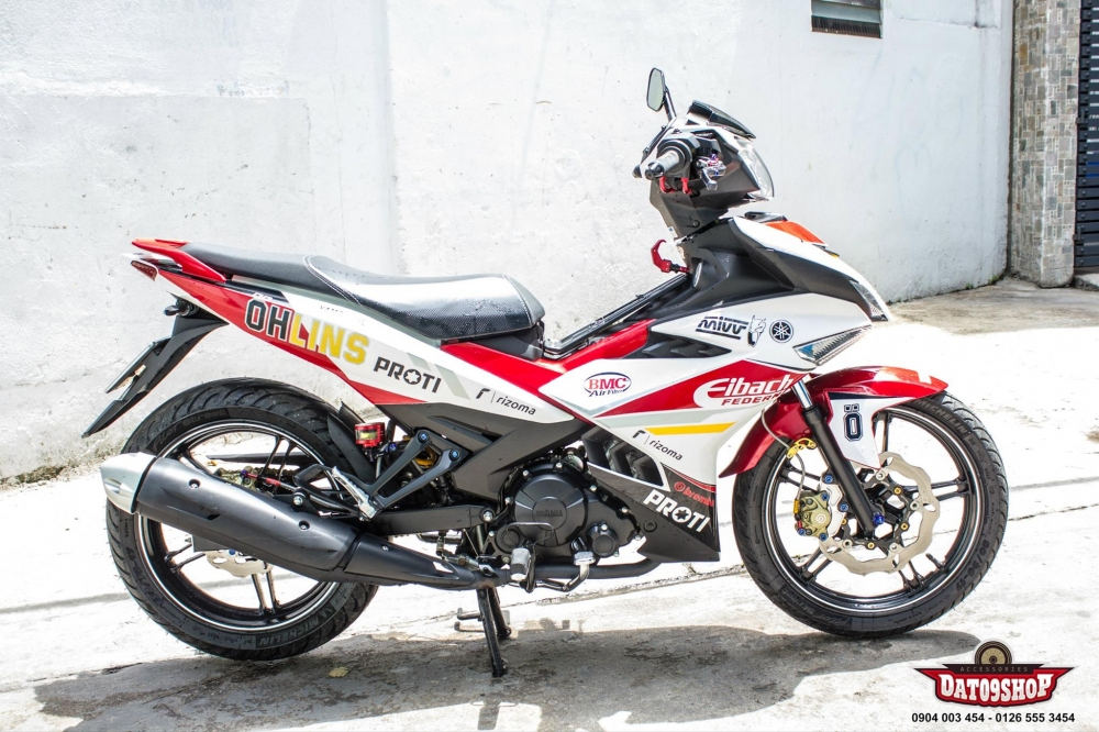 Exciter 150 day an tuong trong ban do hang hieu cuc chat - 2