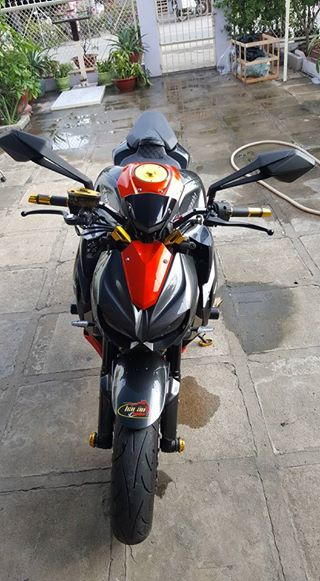 Kawasaki Z1000 hang trung bay cuc cool - 9