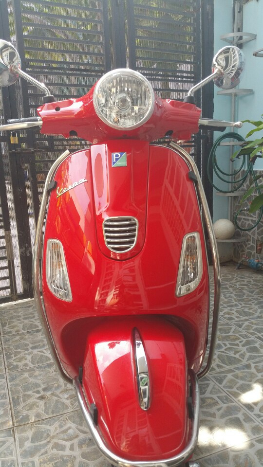 Piaggio Vespa LX 125 2014 mau do bien so thanh pho moi 95 - 6