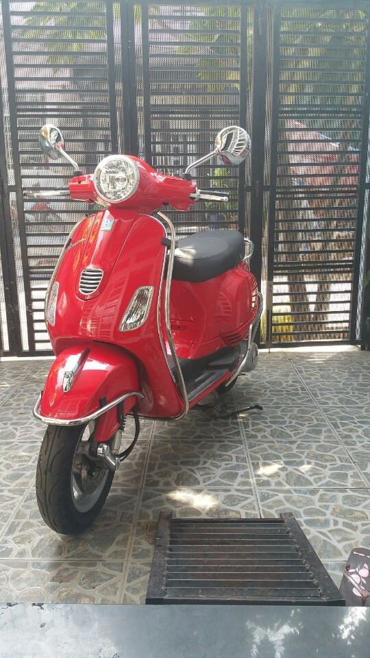 Piaggio Vespa LX 125 2014 mau do bien so thanh pho moi 95 - 5