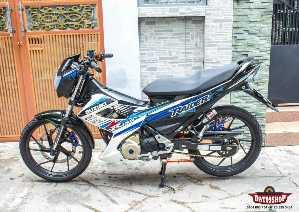 Suzuki Raider day tinh te voi nhung option do choi - 2