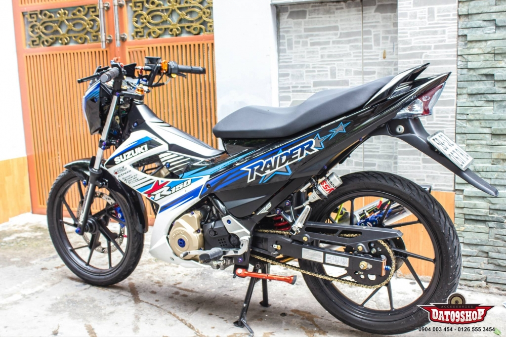Suzuki Raider day tinh te voi nhung option do choi - 8