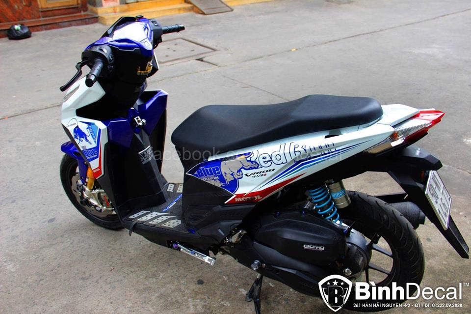 Binh Decal ra mat ban do Click 125i day an tuong - 2