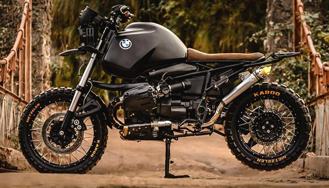 BMW R1100 GS sieu ngau trong ban do Black King cua cua Lucky Custom - 2