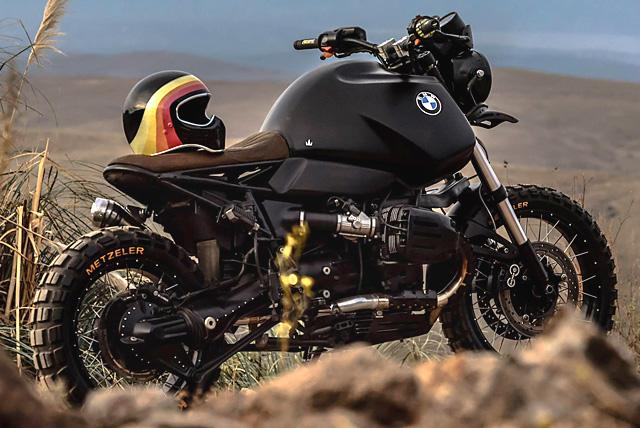 BMW R1100 GS sieu ngau trong ban do Black King cua cua Lucky Custom - 5
