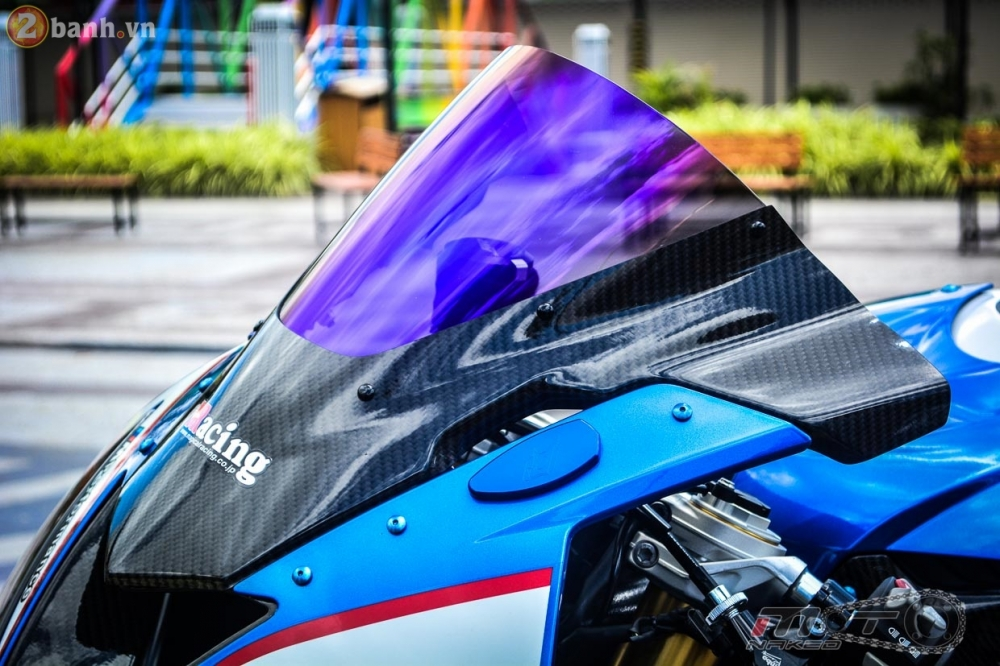 BMW S1000RR 2015 hut hon trong ban do cuc chat cua biker Thai - 7