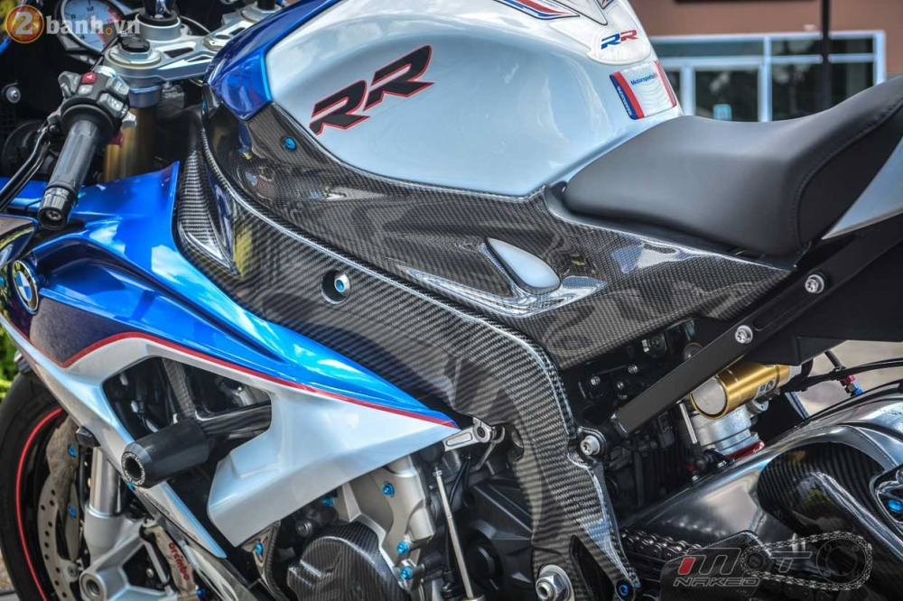 BMW S1000RR 2015 hut hon trong ban do cuc chat cua biker Thai - 22