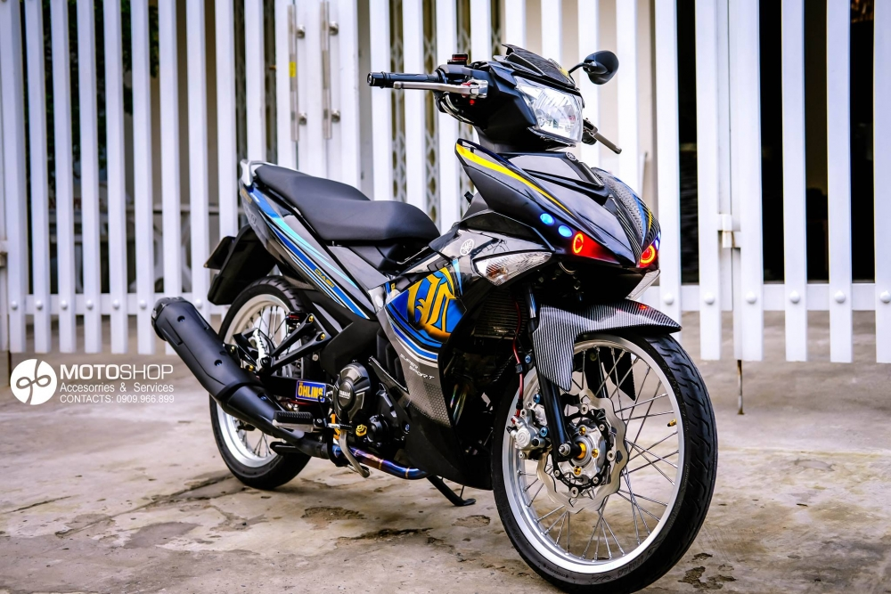 Bong bay cung Exciter 150 - 4