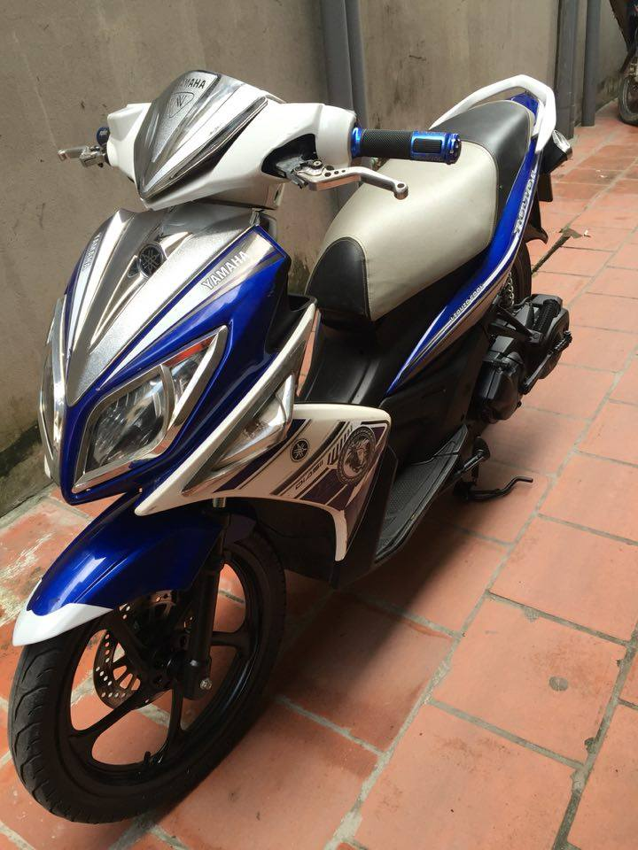 Can ban Yamaha Nouvolx 135 Sport xanh GP 2011 bien HN 5 so xe con dep may cuc chat 15tr - 3