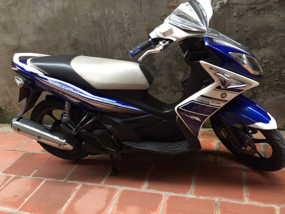 Can ban Yamaha Nouvolx 135 Sport xanh GP 2011 bien HN 5 so xe con dep may cuc chat 15tr - 4