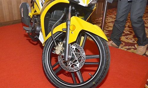 Can canh chi tiet SYM Sport Rider 125i vua duoc ra mat - 9