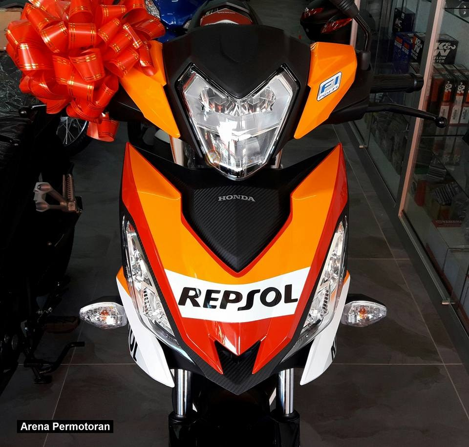 Can canh Winner 150 phien ban Repsol chinh hang - 21
